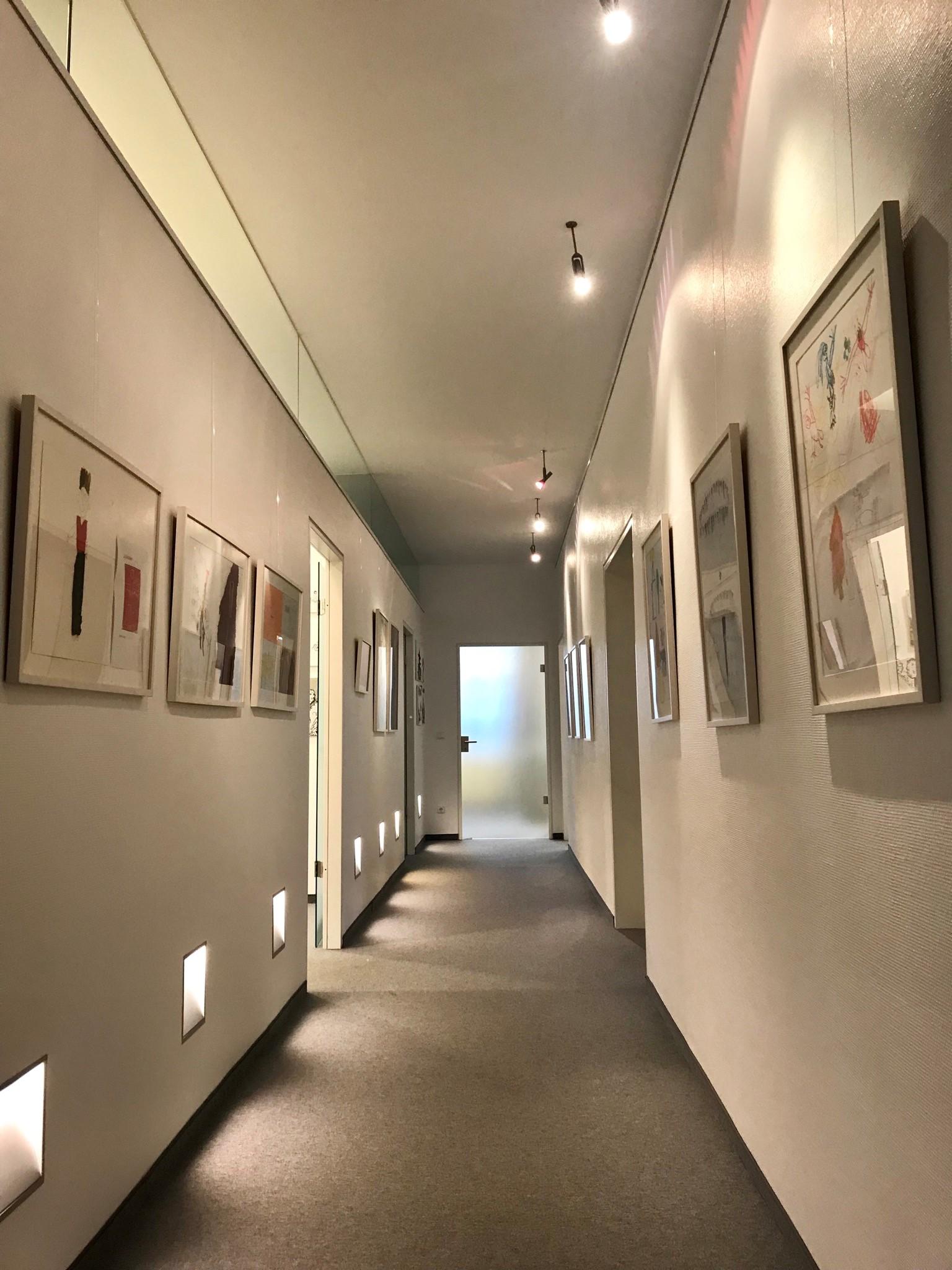 Eröffnung der Ausstellung in der Kämpgen-Stiftung